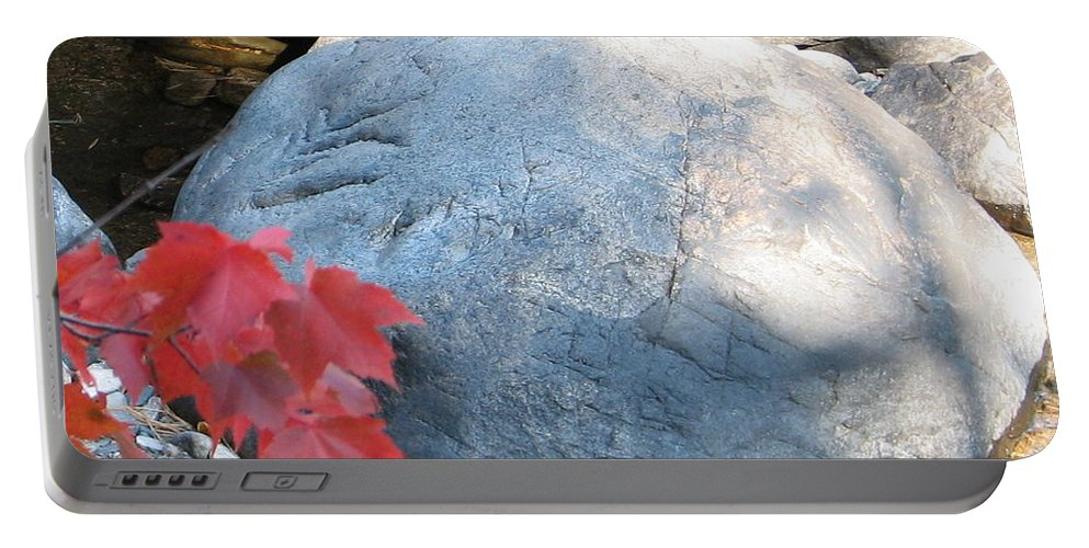 Stone Portable Battery Charger featuring the photograph Small Wonder by Kelly Mezzapelle