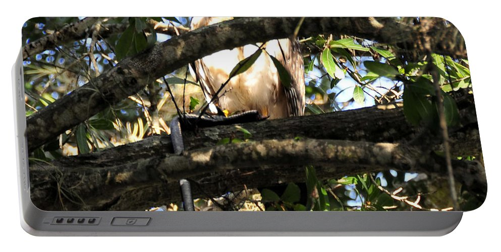 Wildlife Photography Portable Battery Charger featuring the photograph Snake Dinner by David Lee Thompson