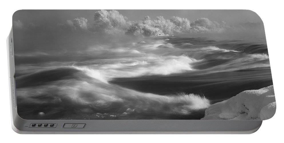 Winter Portable Battery Charger featuring the photograph Snake River Winter by Leland D Howard
