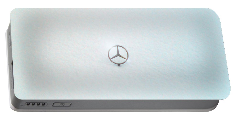 Snow Portable Battery Charger featuring the photograph Snow Star by Are Lund