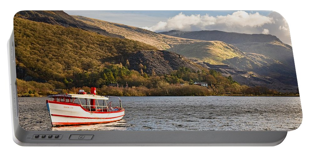 Snowdonia Portable Battery Charger featuring the photograph Snowdon Star by Dave Bowman