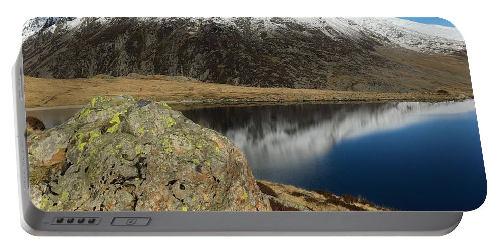 Snowdonia Portable Battery Charger featuring the photograph Snowdonia One by Mo Barton