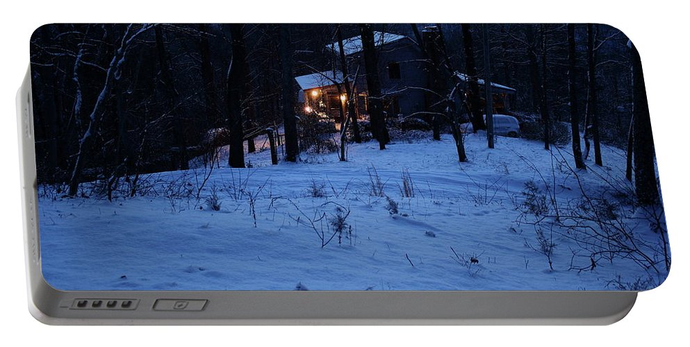 Portable Battery Charger featuring the photograph Snowed In by Lawson Bruen