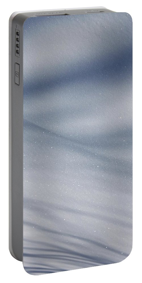 Snow Portable Battery Charger featuring the photograph Snowy Shadows 2 by Lauri Novak