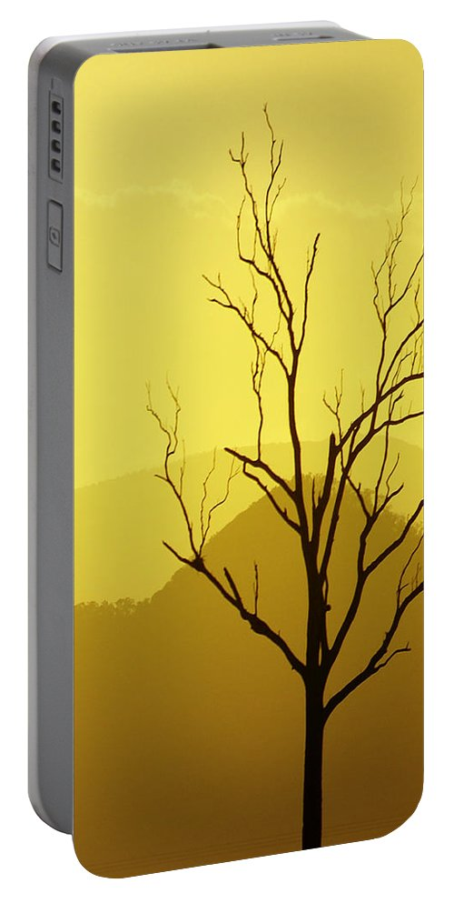 Landscape Portable Battery Charger featuring the photograph Solitude by Holly Kempe