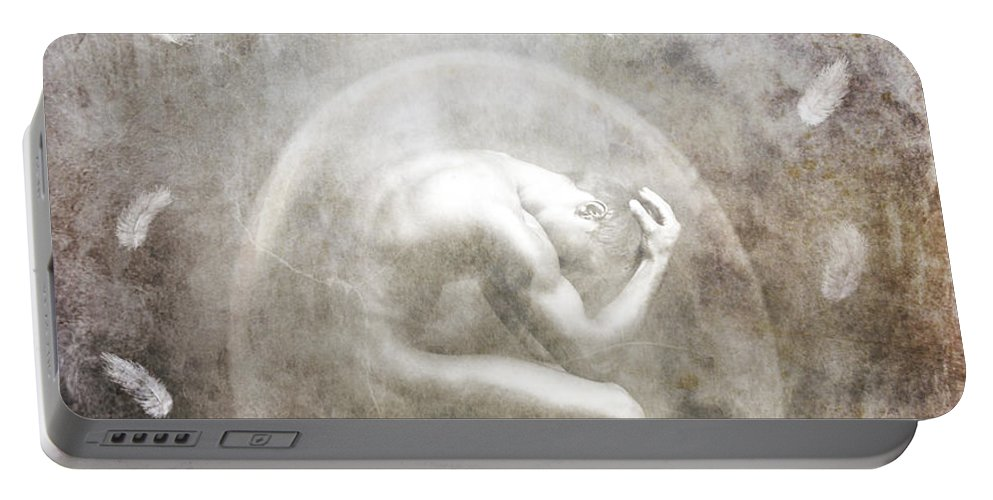 Surreal Portable Battery Charger featuring the photograph Sometimes by Jacky Gerritsen