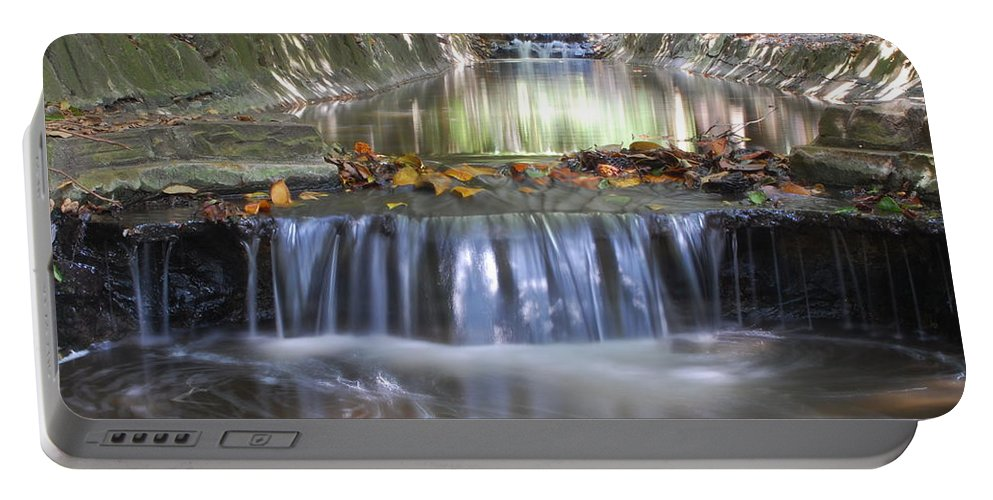 Water Portable Battery Charger featuring the photograph Soothing Waters by Amy Fose