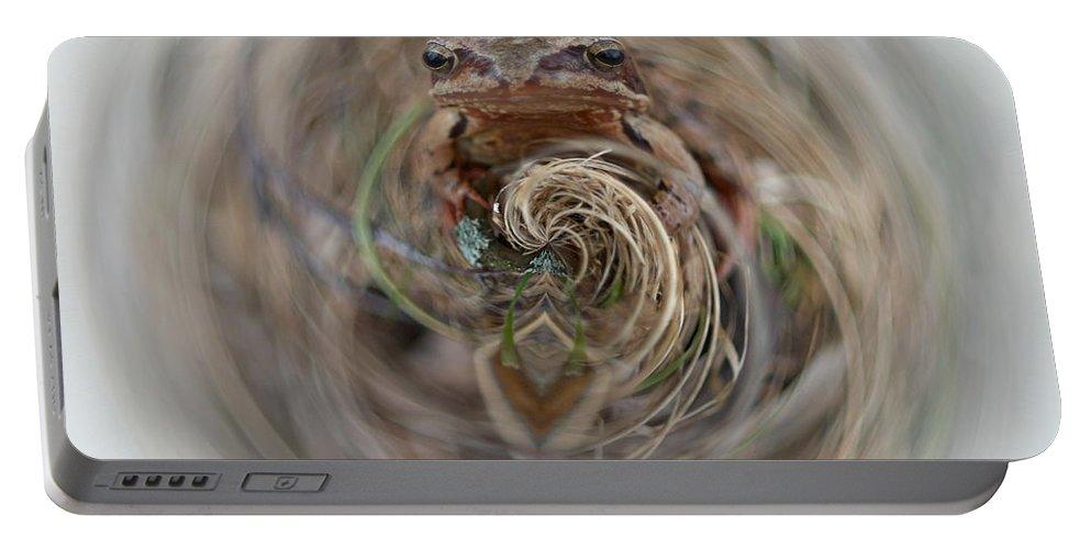 Lehtokukka Portable Battery Charger featuring the photograph Sorry Said The Frog 2 by Jouko Lehto