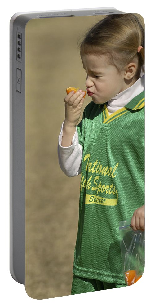 Food Portable Battery Charger featuring the photograph Sour by Jill Reger