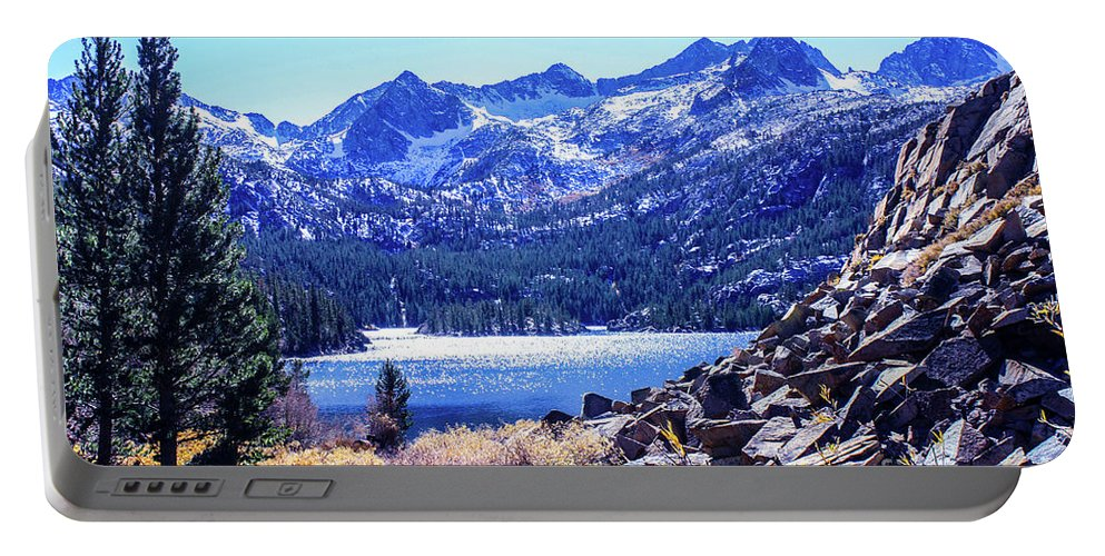 South Lake Portable Battery Charger featuring the photograph South Lake by Tommy Anderson