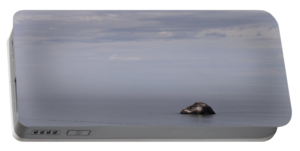 Southern Portable Battery Charger featuring the photograph Southern Oregon Coastal View by Alexander Fedin