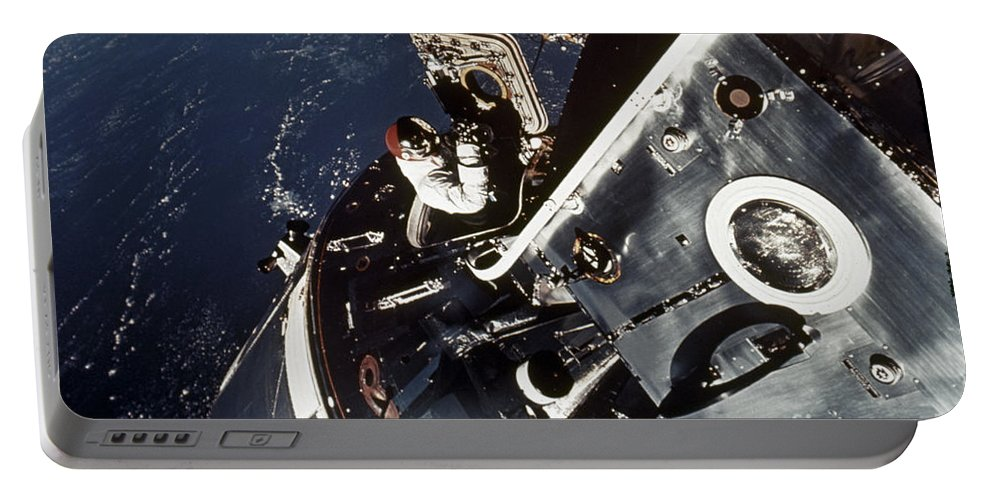 1969 Portable Battery Charger featuring the photograph Space: Apollo 9 by Granger