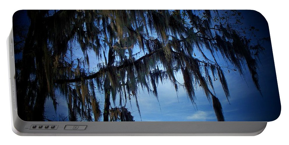 Moss Portable Battery Charger featuring the photograph Spanish Moss by Betty Northcutt