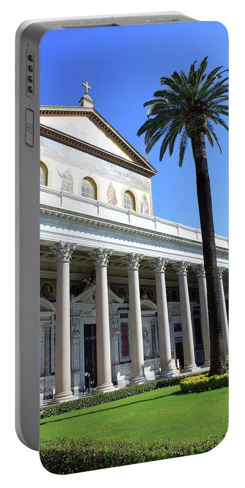 Rome Portable Battery Charger featuring the photograph Special Church by Munir Alawi