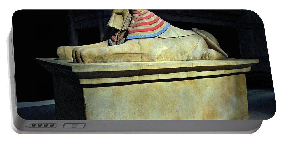 2d Portable Battery Charger featuring the photograph Sphinx by Brian Wallace