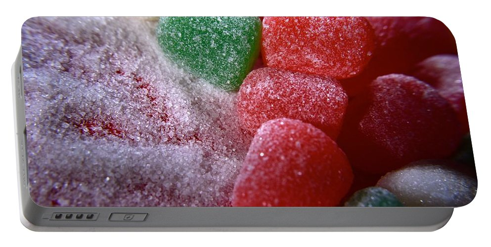 Candy Portable Battery Charger featuring the photograph Spice Drops And Sugar by Bri Lou and P Jeff Smith