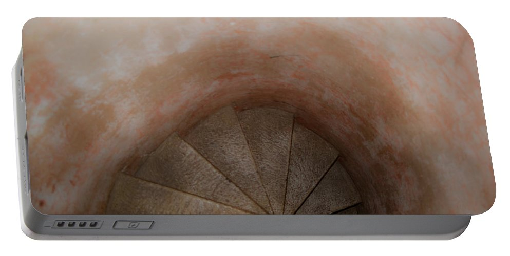Spirl Portable Battery Charger featuring the photograph Spiral Of Time by Douglas Barnett
