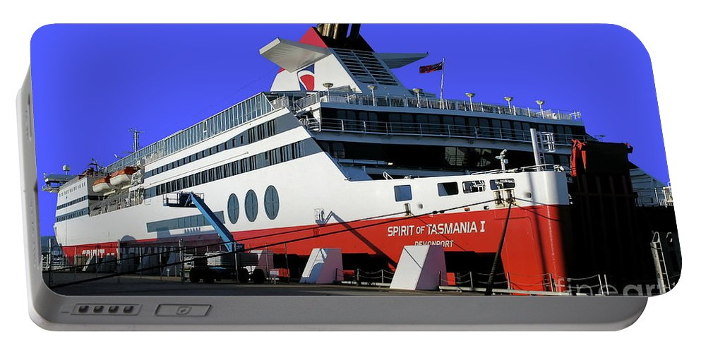 Digital Color Photo Portable Battery Charger featuring the photograph Spirit Of Tasmania by Tim Richards