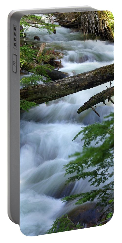 Glacier National Park Portable Battery Charger featuring the photograph Sprague Creek Glacier National Park by Marty Koch