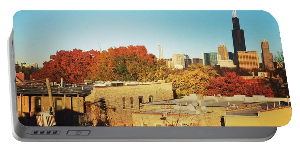 Landscape Portable Battery Charger featuring the photograph Sprin-time Chi by Piyush Jain