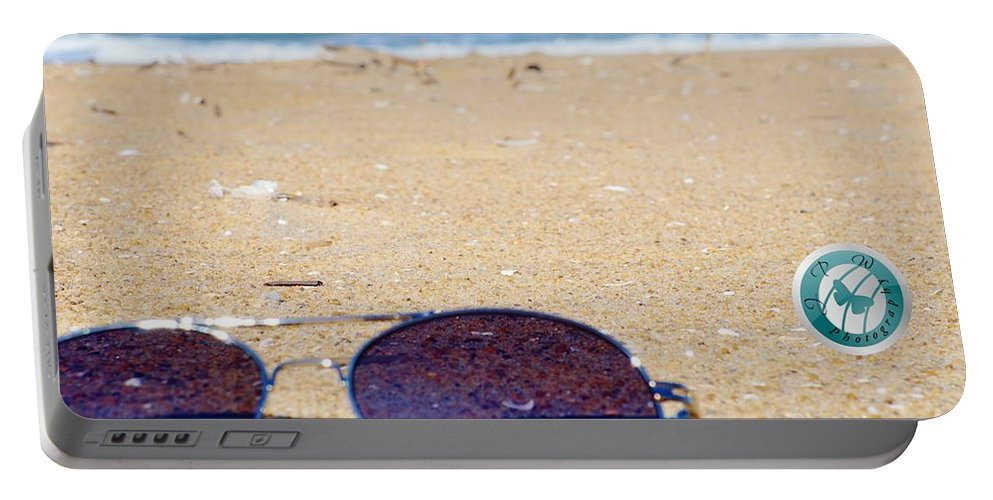 Beach Portable Battery Charger featuring the photograph Spring At The Beach by Jannice Walker