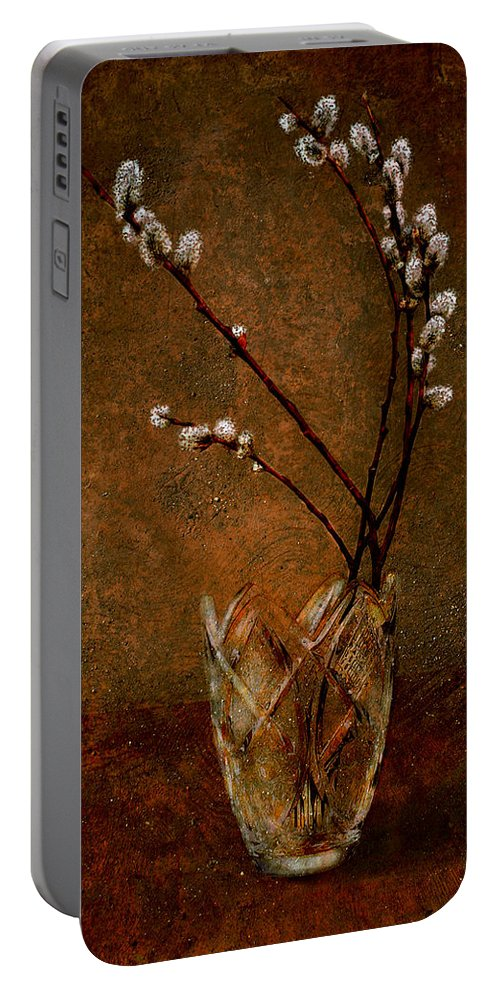 Art Portable Battery Charger featuring the photograph Spring Bouquet by Svetlana Sewell