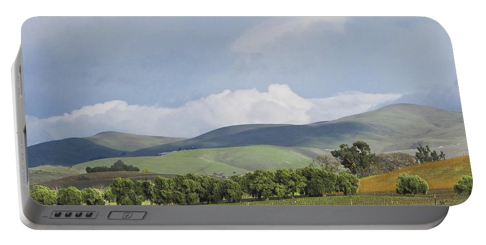 Landscape Portable Battery Charger featuring the photograph Spring In Livermore by Karen W Meyer