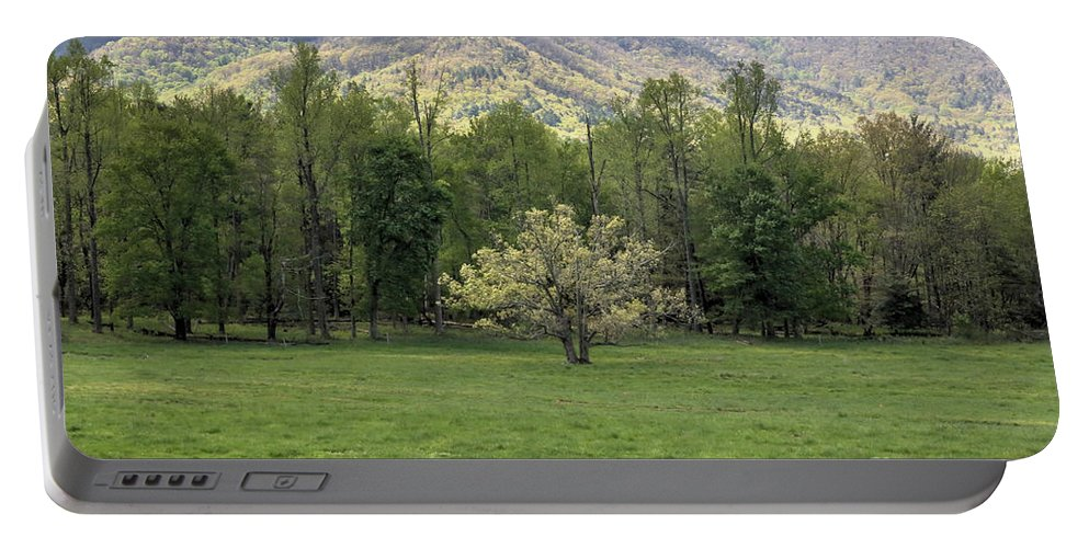 Landscape Portable Battery Charger featuring the photograph Springtime In Cades Cove Great Smoky Mountains National Park by Felix Lai