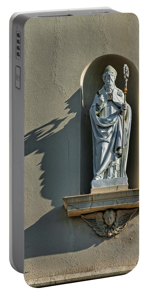 Saint Augustine Portable Battery Charger featuring the photograph St. Augustine Of Hippo by Christopher Holmes