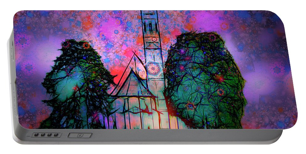 Nag004374a Portable Battery Charger featuring the photograph St. Coloman by Edmund Nagele