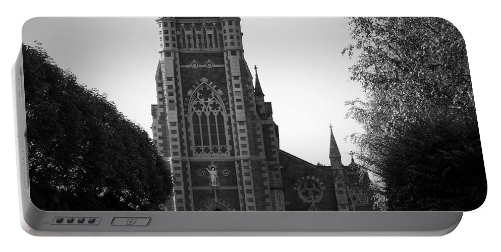 Irish Portable Battery Charger featuring the photograph St. John's Church Tralee Ireland by Teresa Mucha