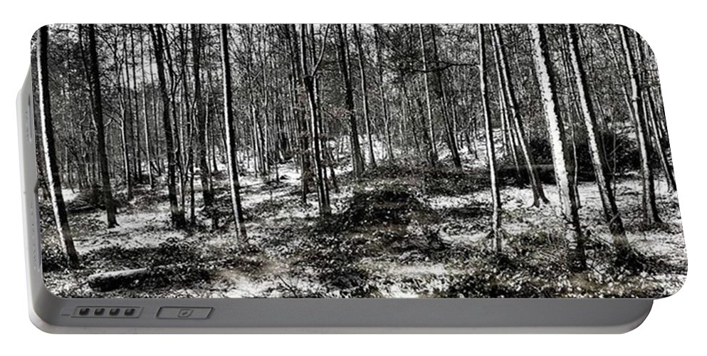 Stlawrenceswood Portable Battery Charger featuring the photograph St Lawrence's Wood, Hartshill Hayes by John Edwards
