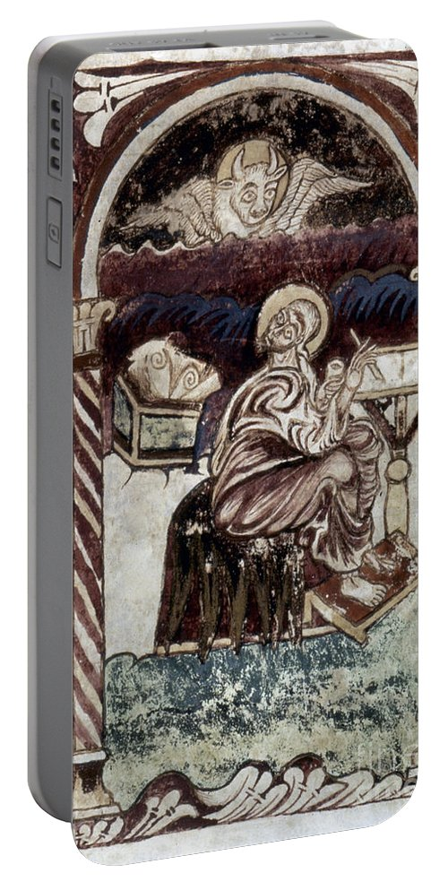 10th Century Portable Battery Charger featuring the painting St. Luke by Granger