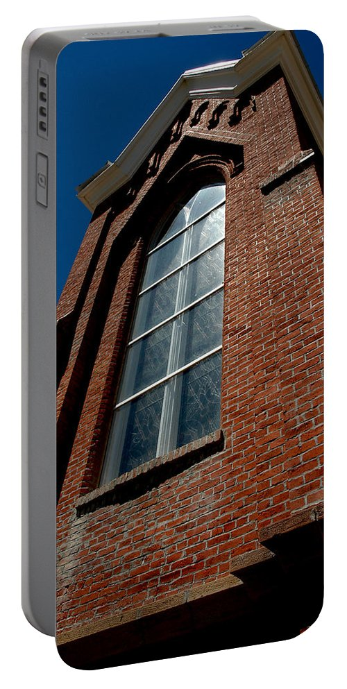 Usa Portable Battery Charger featuring the photograph St. Mary's In The Mountains Catholic Church by LeeAnn McLaneGoetz McLaneGoetzStudioLLCcom