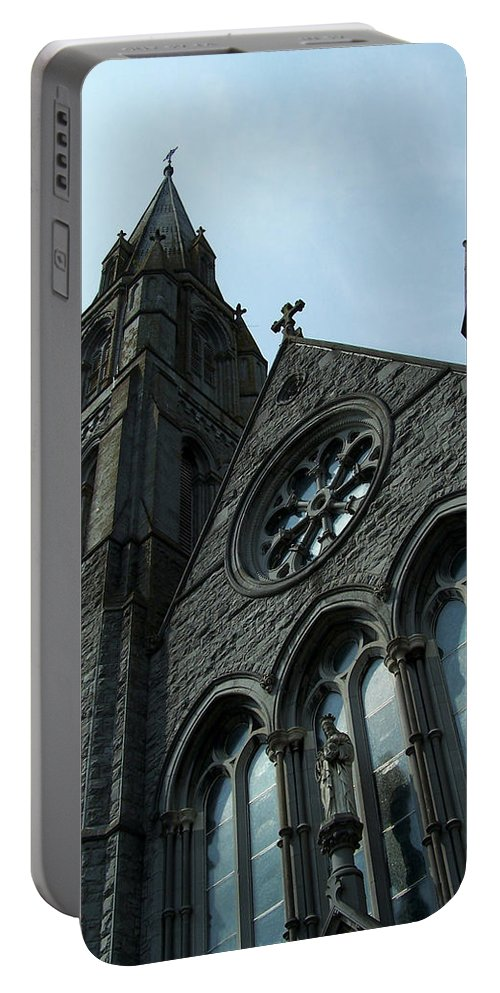 Ireland Portable Battery Charger featuring the photograph St. Mary's Of The Rosary Catholic Church by Teresa Mucha
