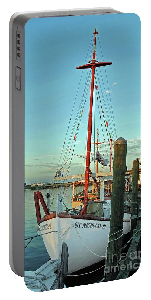 St Nick Portable Battery Charger featuring the photograph St. Nick by Jost Houk