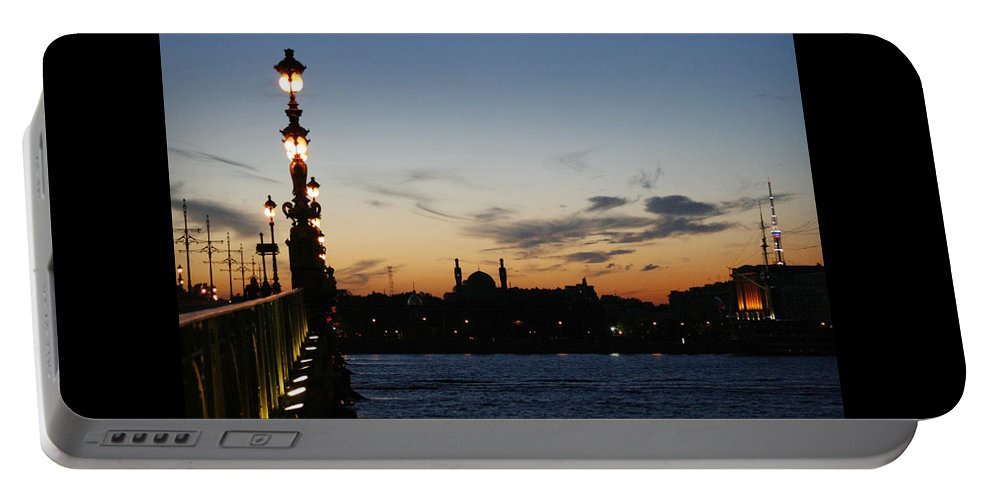 St. Petersburg Portable Battery Charger featuring the photograph St. Petersburg by Masha Batkova