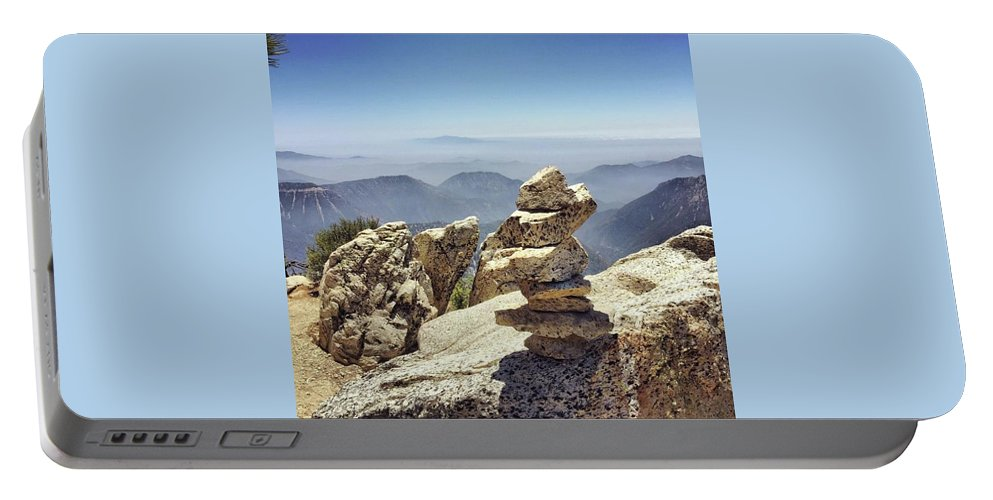 Rocks Portable Battery Charger featuring the photograph Stacked Up by Adam Parker