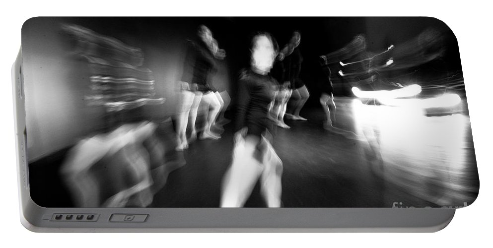 Moden Dance Portable Battery Charger featuring the photograph Stage Zoom - 1 by Scott Sawyer