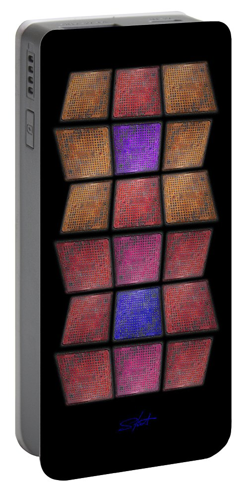 Stairway Portable Battery Charger featuring the photograph Stairway by Charles Stuart