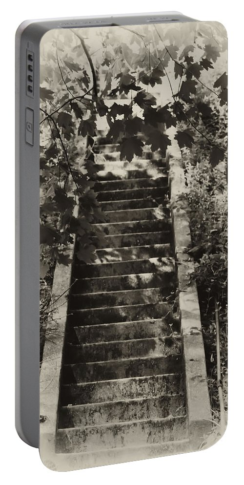 Philadelphia Portable Battery Charger featuring the photograph Stairway To Heaven by Bill Cannon
