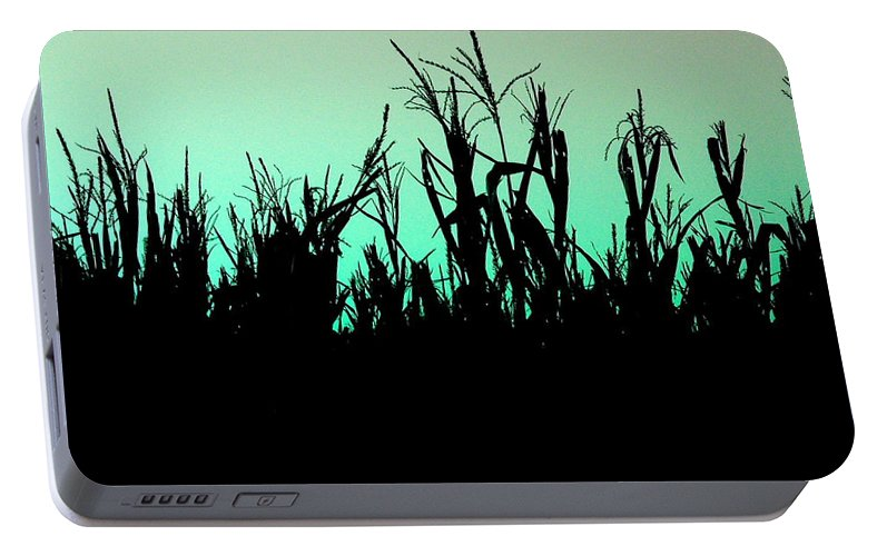 Corn Portable Battery Charger featuring the photograph Stalker by M Pace