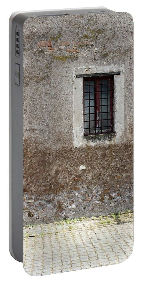 Window Portable Battery Charger featuring the photograph Standing Still by Munir Alawi