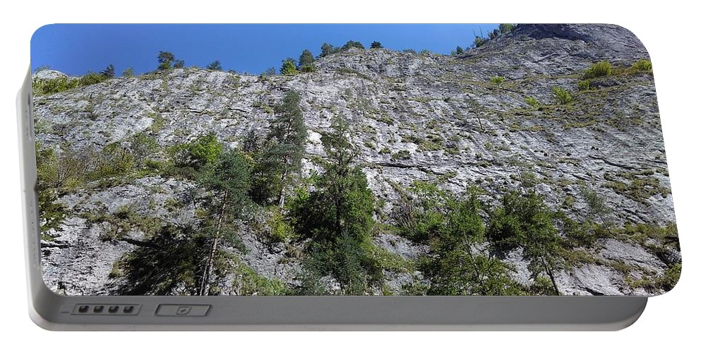 Nature Portable Battery Charger featuring the photograph Standing Tall - The Bicaz Gorge by Erika H