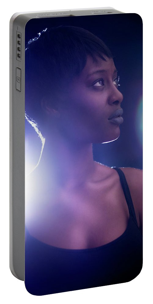 Star 2 Portable Battery Charger featuring the photograph Star 2 by Beth Hedley