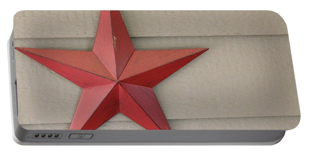 Star Portable Battery Charger featuring the photograph Star by SimpLeigh Art