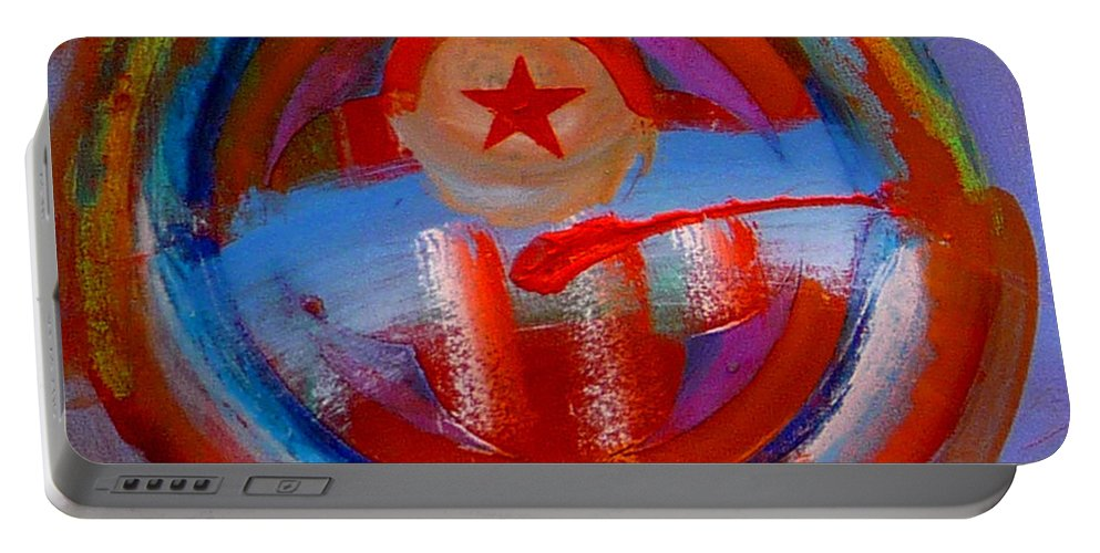 Love Portable Battery Charger featuring the painting Star Of The Sea by Charles Stuart