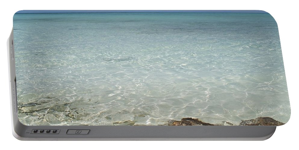Starfish Portable Battery Charger featuring the photograph Star Paradise by Betsy Knapp