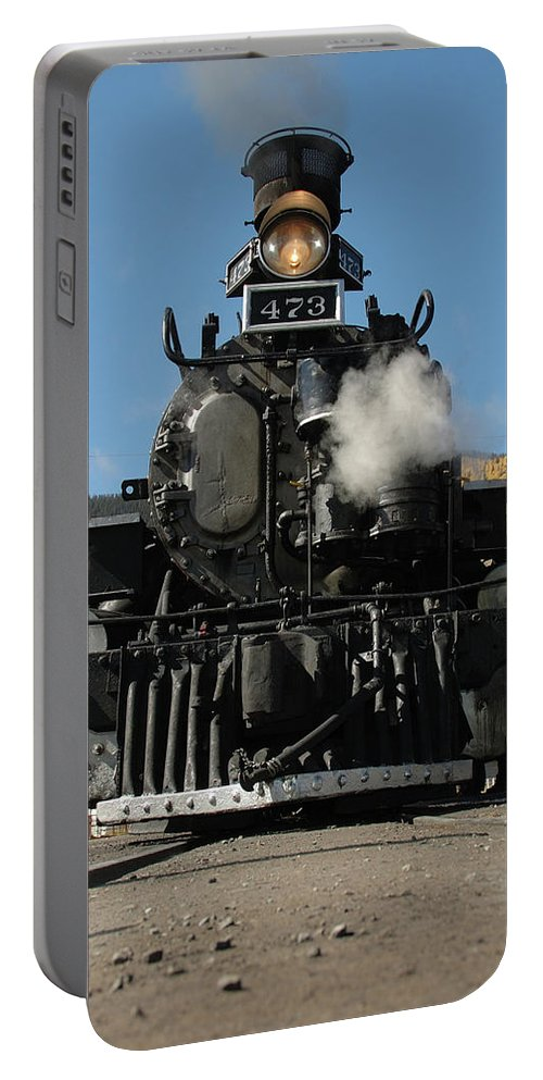 Steam Portable Battery Charger featuring the photograph Steam Power by Jerry McElroy