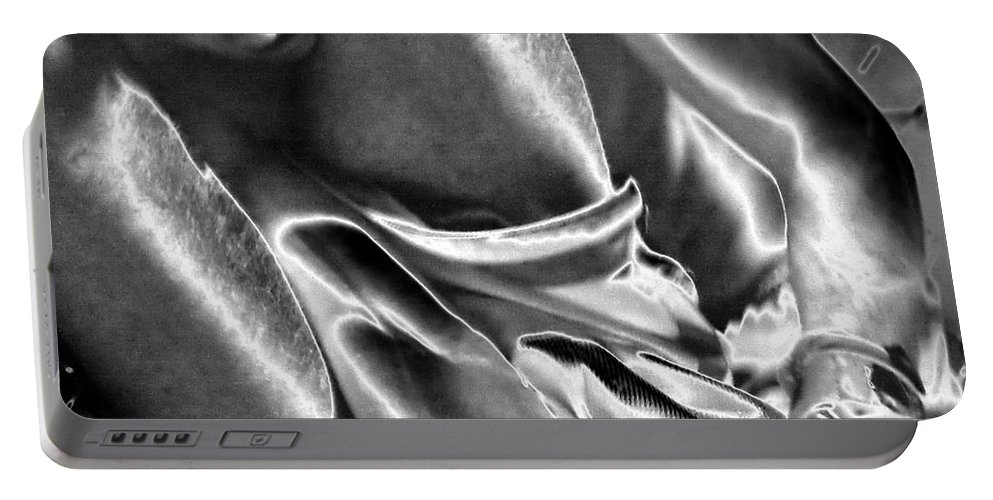Photography Portable Battery Charger featuring the photograph Steel Men Fighting 6 by Frederic A Reinecke